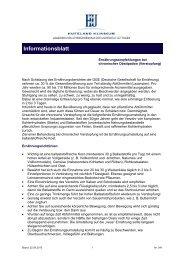 chronische Obstipation - Hufeland Klinikum GmbH