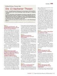 Die 13 Aachener Thesen - Palliativ Portal