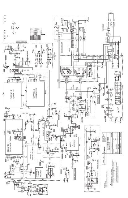 carvin v3 schematic wiring diagram tools Carvin R600 Schematic