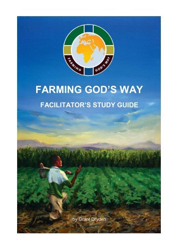 Farming God's Way Facilitator's Study Guide
