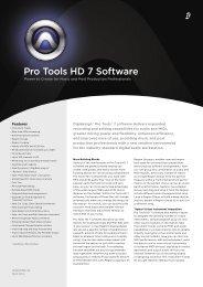 Pro Tools HD 7 Software