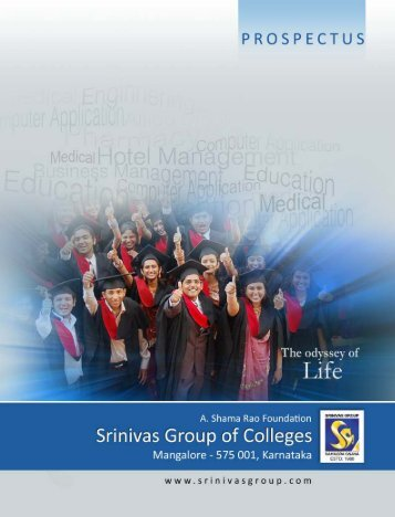 ESTD: 1988 - Srinivas Group of Colleges