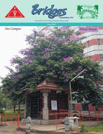 June - Sri Ramachandra University