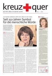 kreuz+quer Ausgabe 1/2013 im PDF-Format - SRK Luzern