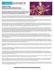 Reviews - SRO Artists