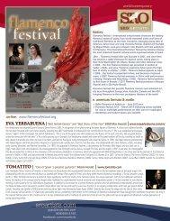 Flamenco Festival 2014 - SRO Artists