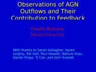 Observations of AGN Outflows and Their Contribution to ... - SRON