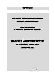 evaluation de la strategie de evaluation de la strategie de reduction ...