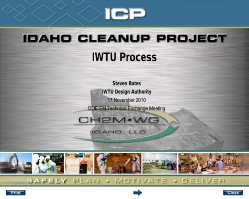IWTU Process - Savannah River Site