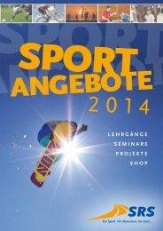 Sport-Angebote 2014 - SRS