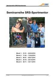 Seminarreihe SRS-Sportmentor