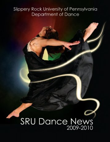 09-10 Dance Newsletter - Slippery Rock University