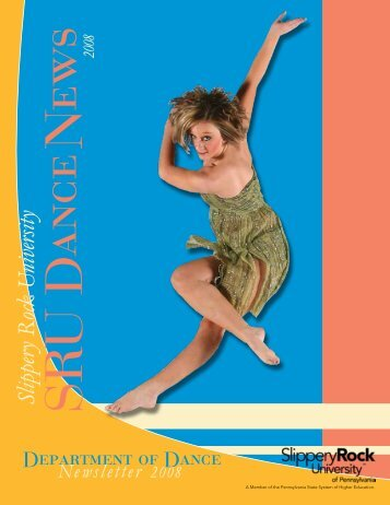 2008 Dance Newsletter - Slippery Rock University