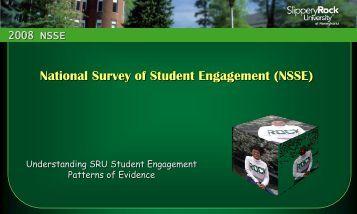 NSSE – Presentation - Slippery Rock University