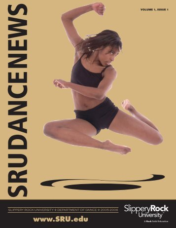 2006 Dance Newsletter - Slippery Rock University