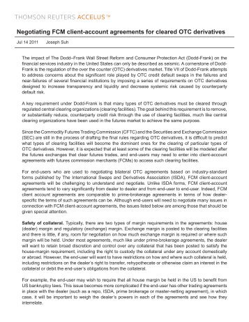 1 Fcm Clearing Membership Agreement Lchearnet