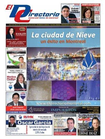 """El """"Fin del Mundo"""" - El Directorio Comercial Latino de Montreal"""