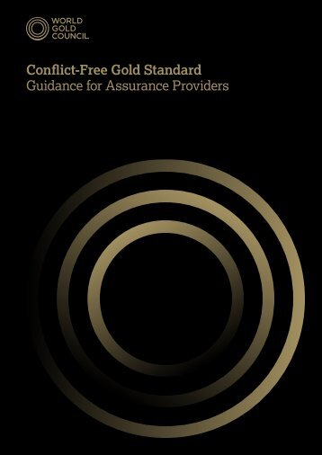Conflict-Free Gold Standard: Guidance for Assurance Providers