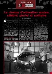 Le cinéma d'animation suisse - SSA