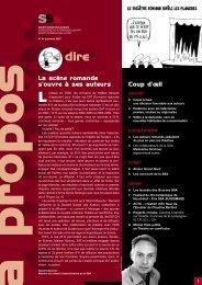 A Propos No 86 Automne 2007 - SSA