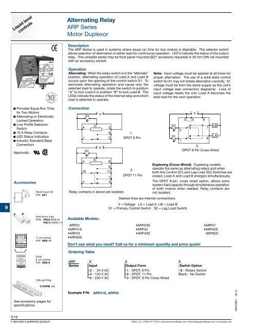 Ssac Alternating Relay Wiring Diagram