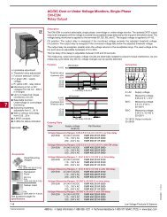 AC/DC Over or Under Voltage Monitors, Single-Phase CM ... - SSAC