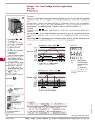 AC Over- And Under Voltage Monitor, Single-Phase CM ... - SSAC