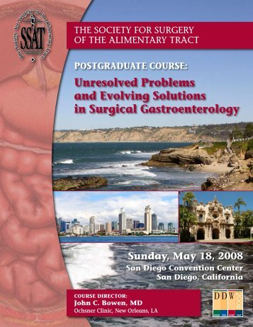 unresolved Problems and evolving solutions in surgical ...