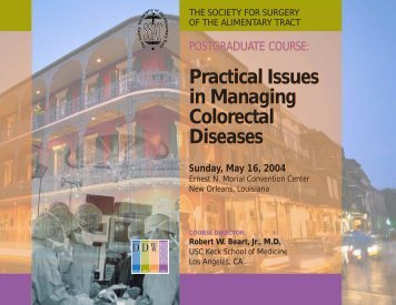 Practical Issues in Managing Colorectal Diseases Practical Issues in ...