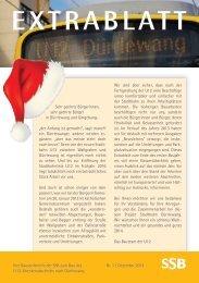 Extrablatt Dezember 2013 - SSB