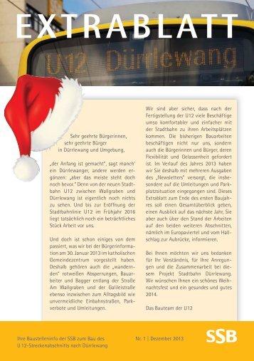 Newsletter 04 Dezember 2013 - SSB