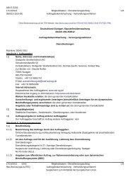 Deutschland-Stuttgart: Baustellenüberwachung - SSB