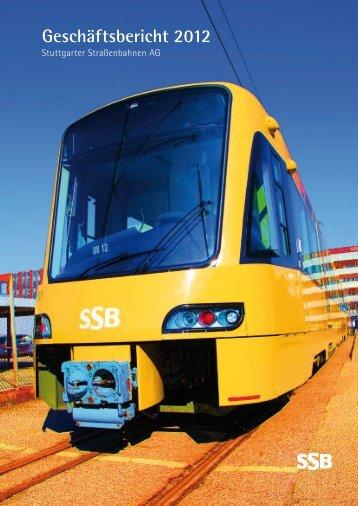 Geschäftsbericht 2012 - SSB