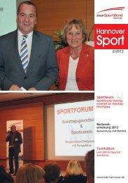 Sportforum 2 - Stadtsportbund Hannover e.V.