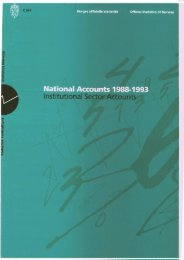 National Accounts 1988-1993. Institutional Sector Accounts