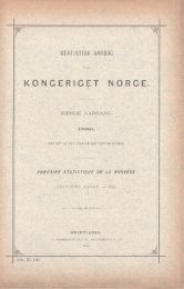 Statistisk Aarbog for kongeriget Norge 1889
