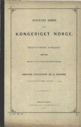 Statistisk aarbog for kongeriget Norge. 1902 - SSB