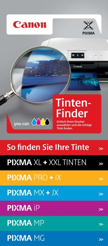 Tinten- Finder