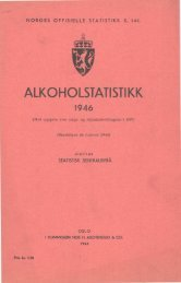 Alkoholstatistikk 1946 - SSB