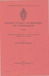 Norges private aktiebanker og sparebanker 1935