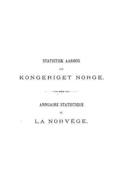 Statistisk årbok 1895 - SSB