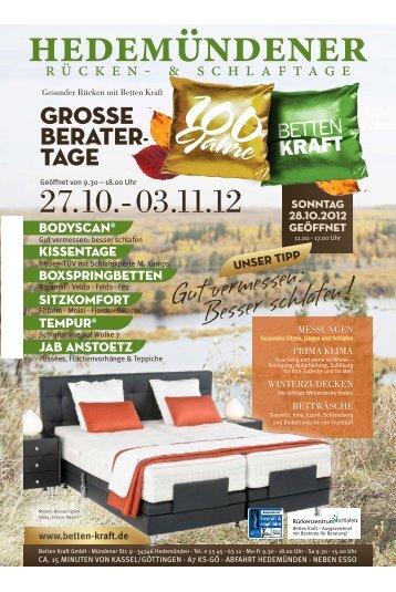 Download (PDF) Herbsteratungs-Flyer HIER - Betten Kraft