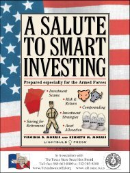 Investing - Texas State Securities Board