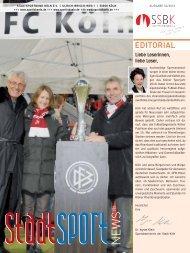 Ausgabe 02/2010 - StadtSportBund Köln