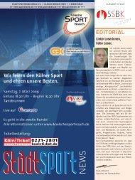 SSBK-StadtSportNews 01-2009.qxp:SSBK-StadtSportNews 01-2009