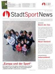 StadtSportBundes - StadtSportBund Köln