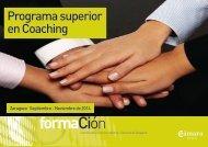 Catalogo Programa superior en coaching