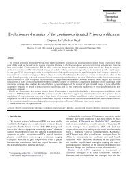 Evolutionary dynamics of the continuous iterated Prisoner's dilemma