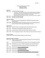 MIGNON R. MOORE - Social Sciences Division - UCLA