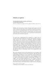 Ethnicity as Cognition.pdf - Social Sciences Division